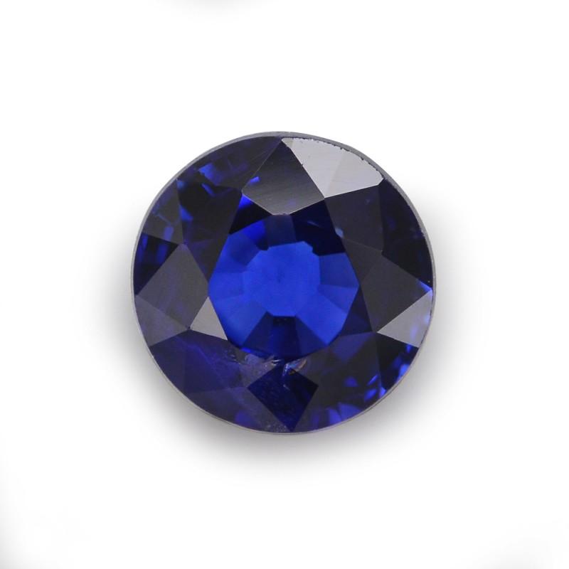 Blue Round Diamond