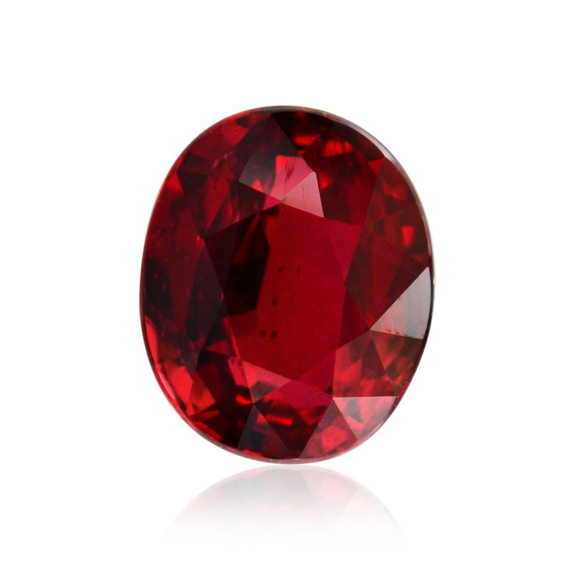 2 02 Carat Pigeon Blood Mozambique Ruby Oval Shape No