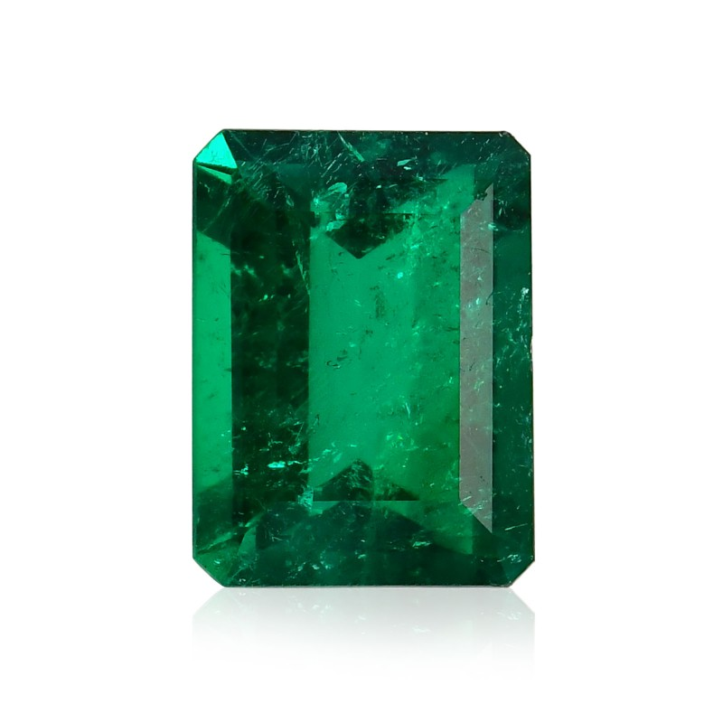 Green Octagon Diamond