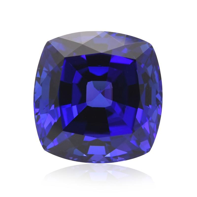 Blue Cushion Diamond