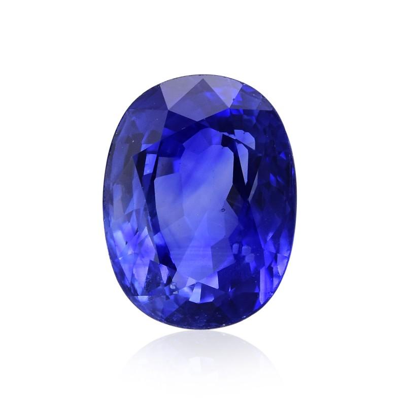 Blue Oval Diamond