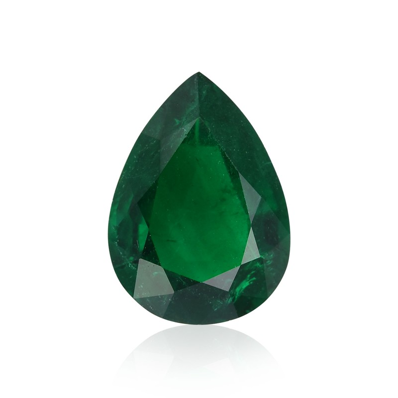 Green Pear Diamond