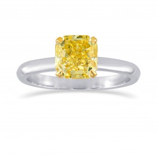 Low Profile Solitaire Diamond Ring Setting, SKU 1001S