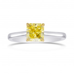 Classic Square 4 Prong Cathedral Solitaire Ring Setting, SKU 1012S