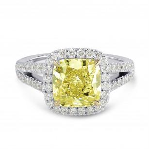 Open Pave Split Shank Diamond Halo Ring Setting, SKU 1511S