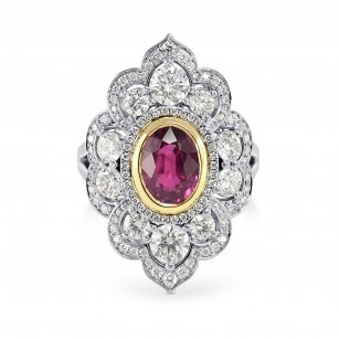 Ruby & Diamond Designer Couture Ring, SKU 163998 (3.84Ct TW)