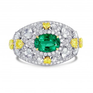 Emerald & Diamond Dress Ring, SKU 170552 (2.54Ct TW)