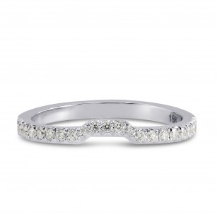 Contoured Diamond Wedding Band, SKU 172587 (0.15Ct TW)