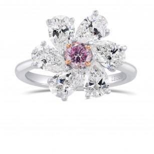 Extraordinary Round and Pear Diamond Ring Setting, SKU 19061S