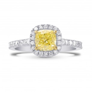 Contemporary Diamond Halo Ring Setting, SKU 2014S