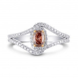 Pave Cross-Over Diamond Dress Ring Setting, SKU 2330S