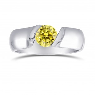 Round Tension Solitaire Ring, SKU 2368S