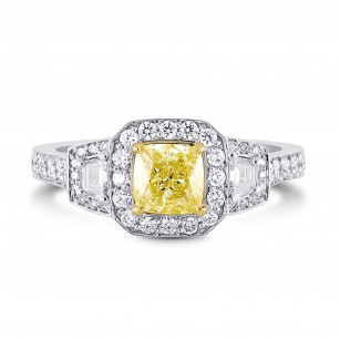 Halo & Stepcut Diamond Ring Setting, SKU 2451S
