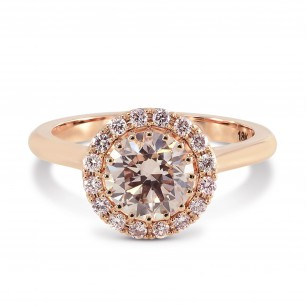 Fancy Light Pink Diamond Ring Setting, SKU 2489S