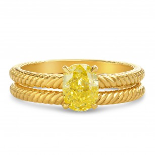 Rope Solitaire Engagement & Wedding Ring Set, SKU 2567WS