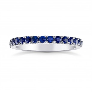 Sapphire Half-Eternity Band Ring, SKU 26891R (0.60Ct TW)