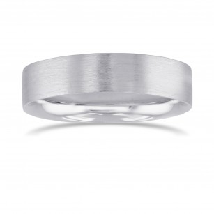 Brushed Men's Wedding Band, SKU 27968R