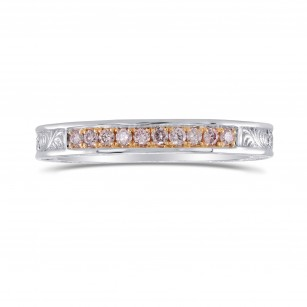 Ornate Pink Diamond Band Ring, SKU 28007R (0.19Ct TW)