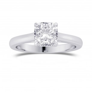 1.00ct. GIA Cushion 4 Prong Classic Solitaire Ring, SKU 28149R (1.00Ct TW)