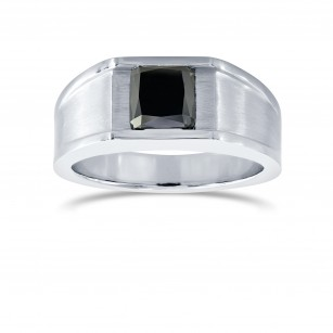 Men's Black Diamond Ring, SKU 28184V (2.45Ct TW)
