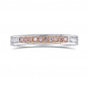 Ornate Pink Diamond Band Ring, SKU 283229 (0.19Ct TW)