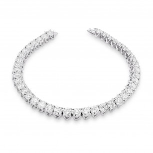Round Brilliant Diamond Tennis Bracelet, SKU 28373R (9.00Ct TW)