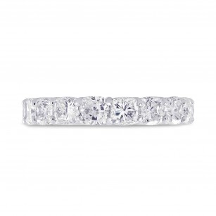 Platinum Cushion-Cut Diamond Full Eternity Band Ring, SKU 28486V (5.28Ct TW)