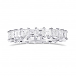 Carrè Diamond Full Eternity Band Ring, SKU 290505 (3.44Ct TW)
