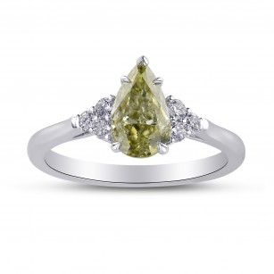 Chameleon and Diamond Side Stones Ring, SKU 306487 (1.18Ct TW)