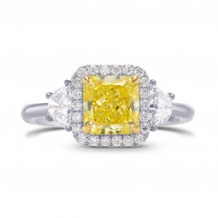 Halo and Trapezoid Diamond Ring setting, SKU 3190S