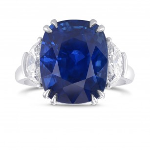 10.04CT Burma No Heat Extraordinary Sapphire Ring, SKU 326562 (10.85Ct TW)