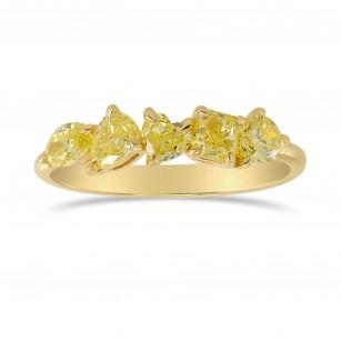 Fancy Yellow Mix Shape Band Ring, SKU 328343 (1.01Ct TW)