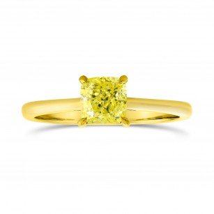 Four Prong Pave Accent Solitaire Ring, SKU 3459S