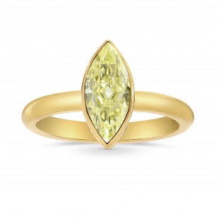 Bezel Solitaire Diamond Ring Setting, SKU 40024S