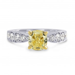 Bombe Pave Diamond Side-stone Ring Setting, SKU 40205S