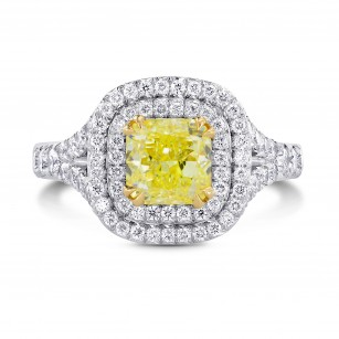'Carriage Double Halo' Diamond Ring Setting, SKU 4021S