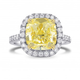 Large Classic Diamond Micro-Halo Ring Setting, SKU 40235S