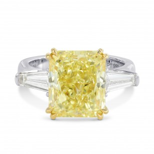 Large Square Stone and Taper Diamond Ring Setting, SKU 40401S