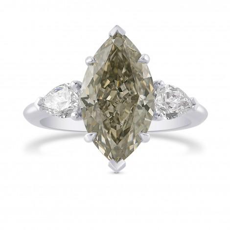 Pear Diamond Side-stone Ring Setting, SKU 11231S