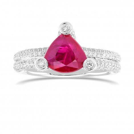 Ruby & Diamond Designer Dress Ring, SKU 161255 (2.75Ct TW)