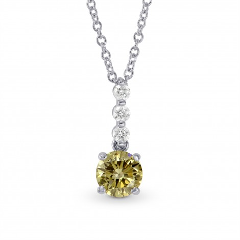 Chameleon Round Diamond Drop Pendant, SKU 161442 (0.56Ct TW)