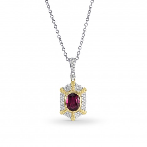 Leibish Ruby Necklaces