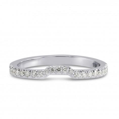 Contoured Diamond Wedding Band, SKU 172587 (0.15Ct TW)