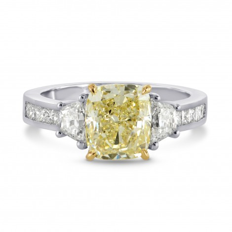 Cushion Trapezoid Princess Ring Setting, SKU 1799S