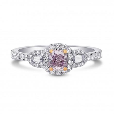Petit Halo & Taper Diamond Ring Setting, SKU 1916S