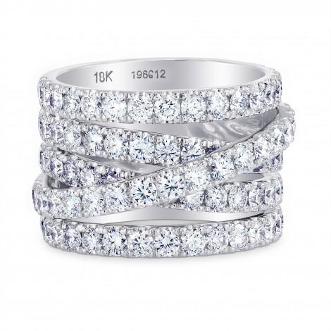 Diamond Pave Multi-Band Ring, SKU 196612 (4.03Ct TW)