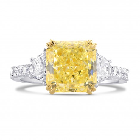 Trapezoid and Pave Diamond Side-stone Ring Setting, ARTIKELNUMMER 2066S