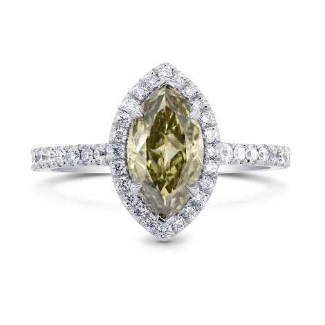 Chameleon Marquise Diamond Halo Ring, SKU 223219 (1.34Ct TW)