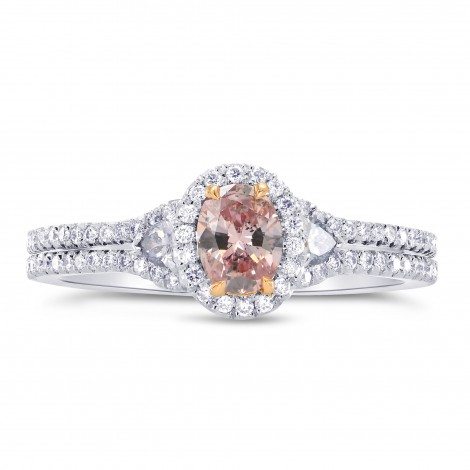 Argyle Oval Pink & Blue Diamond Engagement Ring, SKU 242946 (0.65Ct TW)