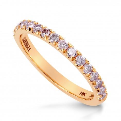 bbf92e1a0 Fancy Light Pink Diamond half Eternity Wedding Ring, SKU 24924R (0.30Ct TW)